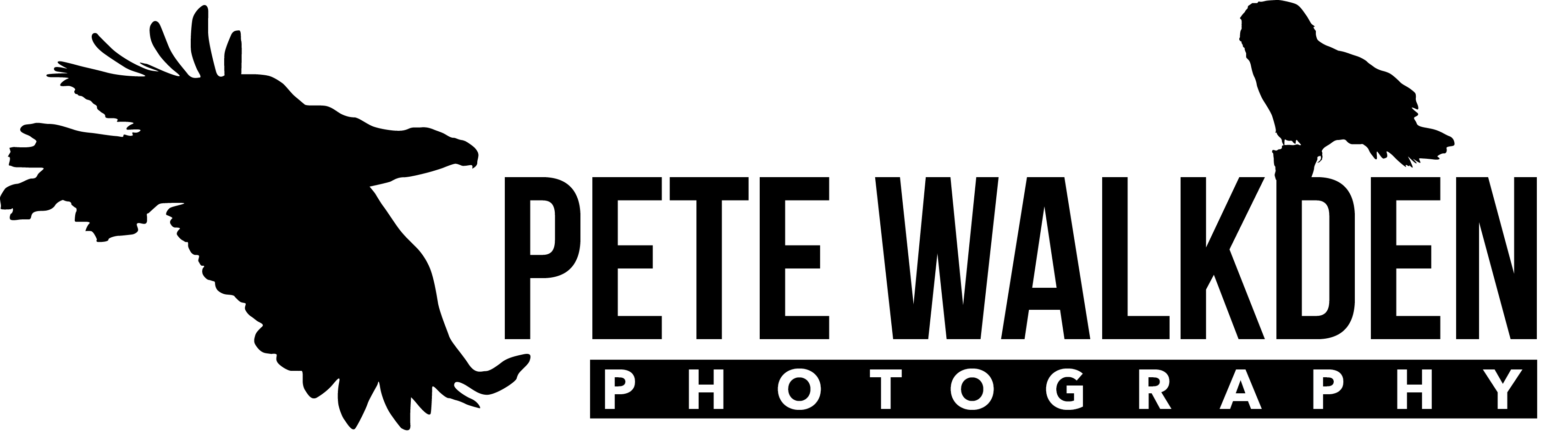 PeteWalkdenLogoBlack