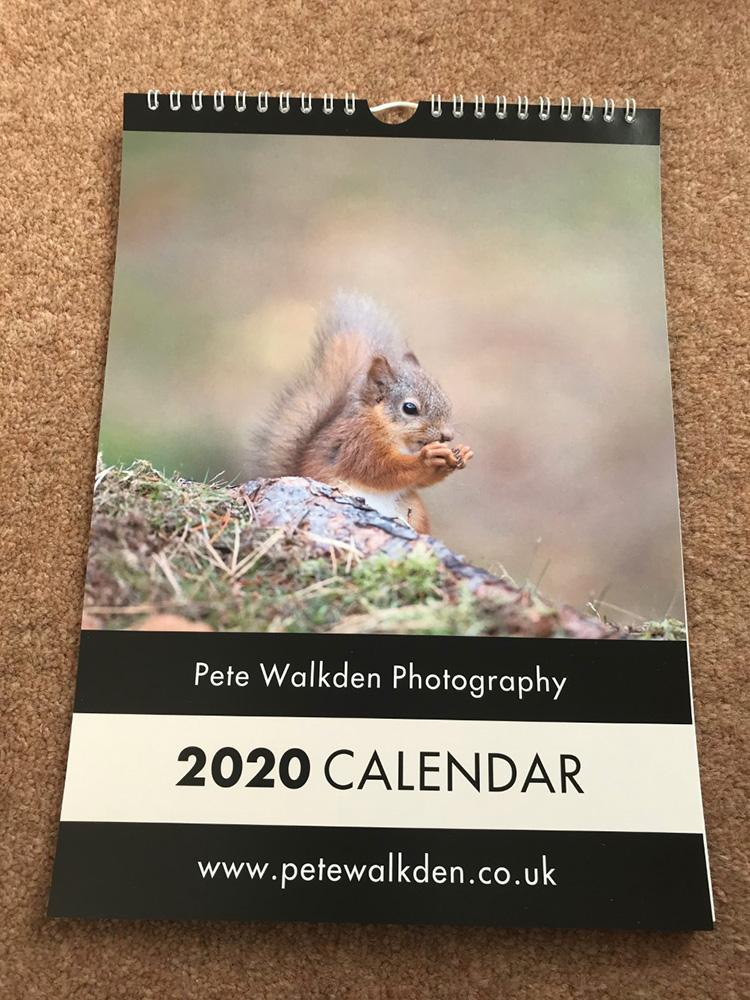 2020 Wildlife Calendar